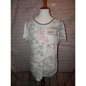 FREE PEOPLE Top XS Tee Knit Super Soft Gray